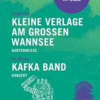 Kleine Verlage am Großen Wannsee + Kafka Band