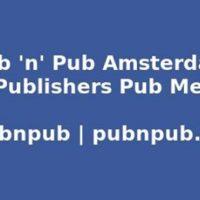 5. #pubnpub Amsterdam - Geneviève Waldmann interviewt Eric Visser en Annemie Jans