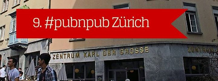 9. #pubnpub Zürich - André Gstettenhofer über Crowdfunding von Büchern