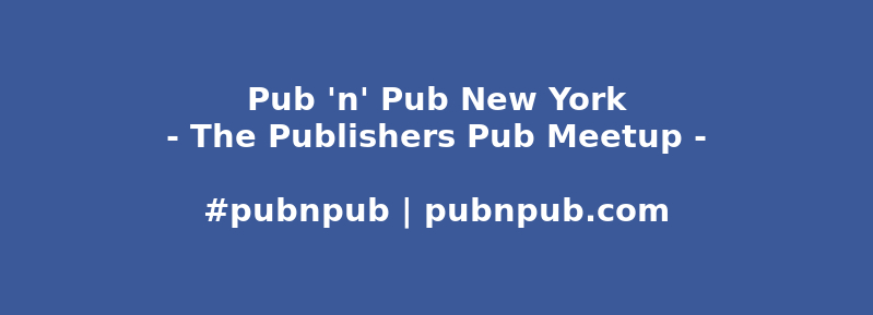 #pubnpub New York