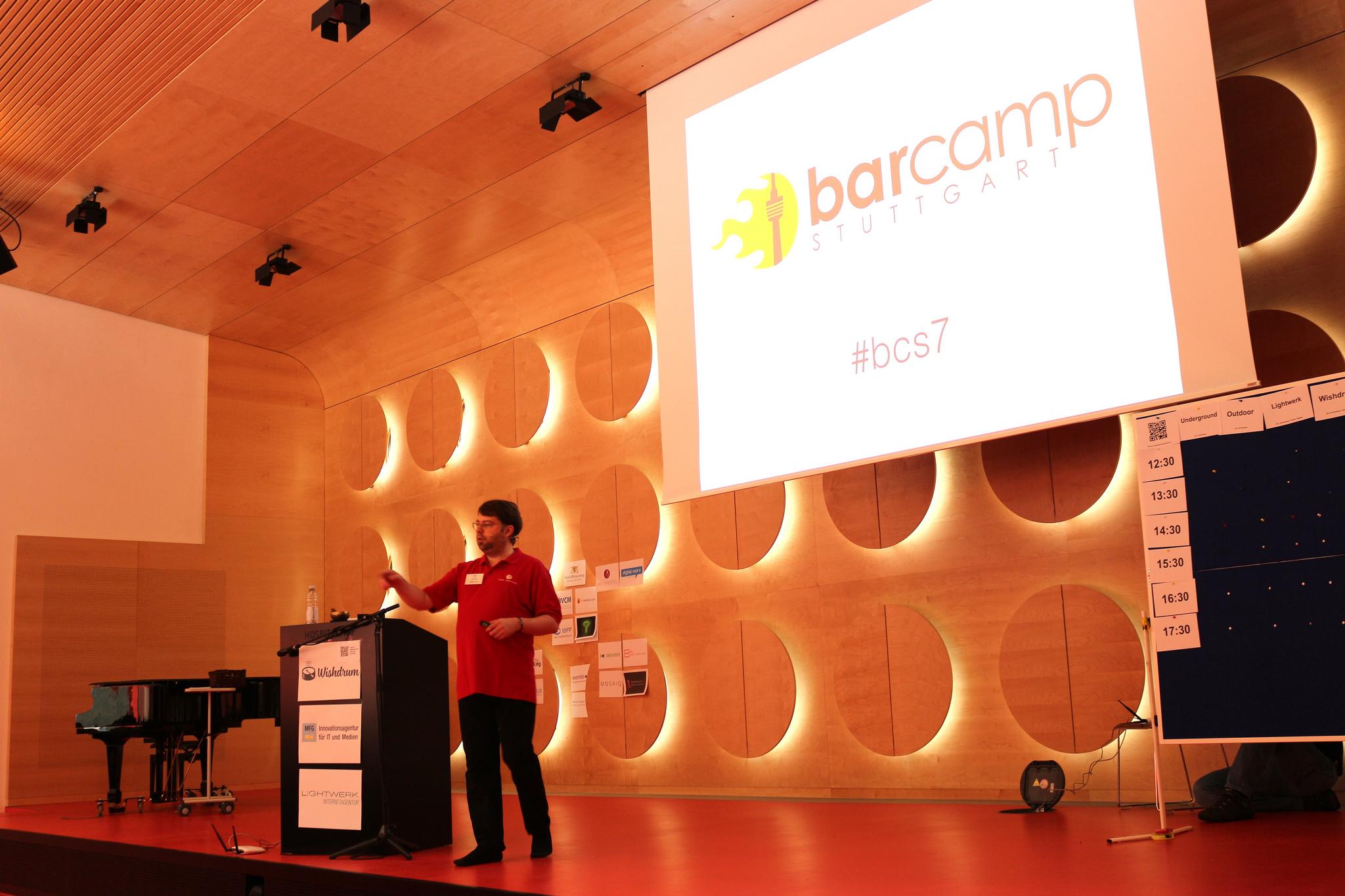 Jan Theofel aka Mr. Barcamp