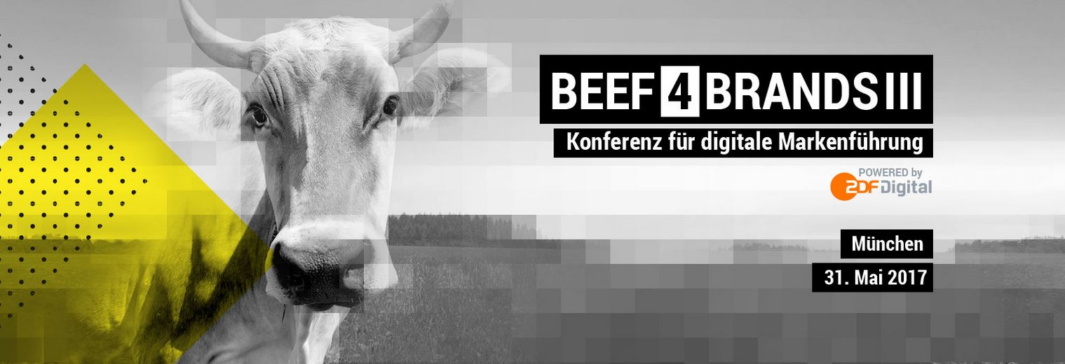 BEEF4BRANDS: Konferenz für digitale Markenführung