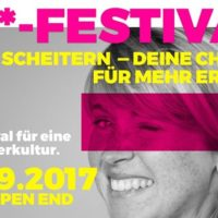 F***-Festival - Das Festival für eine neue Fehlerkultur