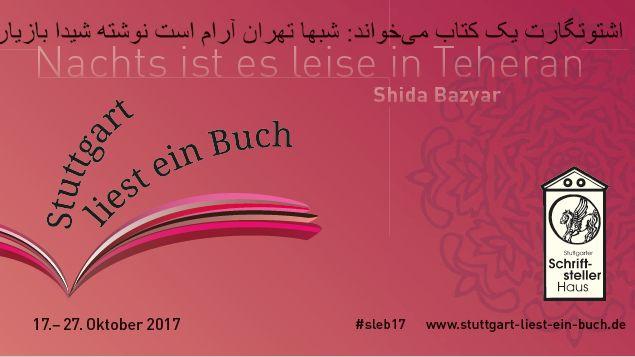Stuttgarter Schriftstellerhaus: Die Laden-Lese-Tour bei Stuttgart liest ein Buch 2017