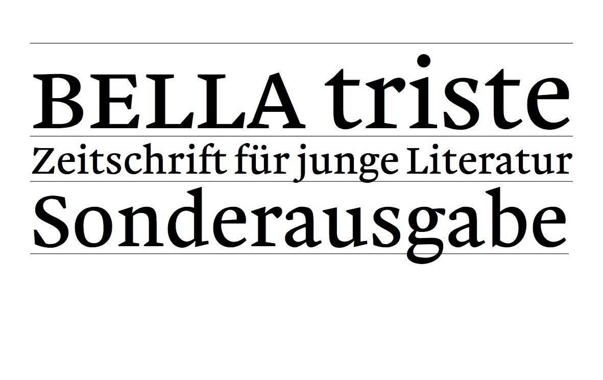 BELLA triste: PROSANOVA 17 als Festival für junge Literatur
