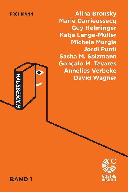 Anthologie 'Hausbesuch', Band 1/3, hg. vom Goethe-Institut, de/es (Paperback)