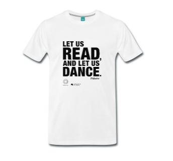 LET US READ Männer-Premium-T-Shirt