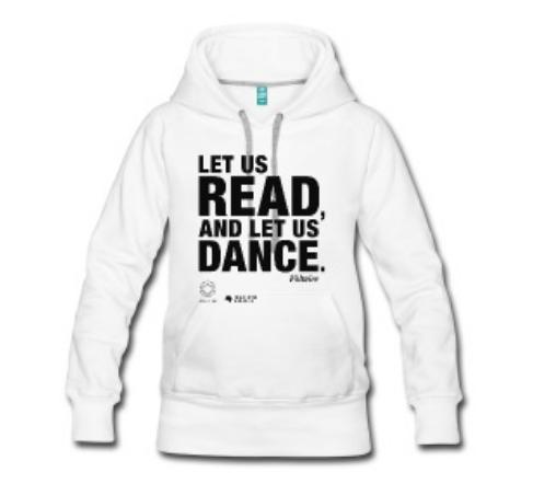 LET US READ Frauen-Premium-Hoodie