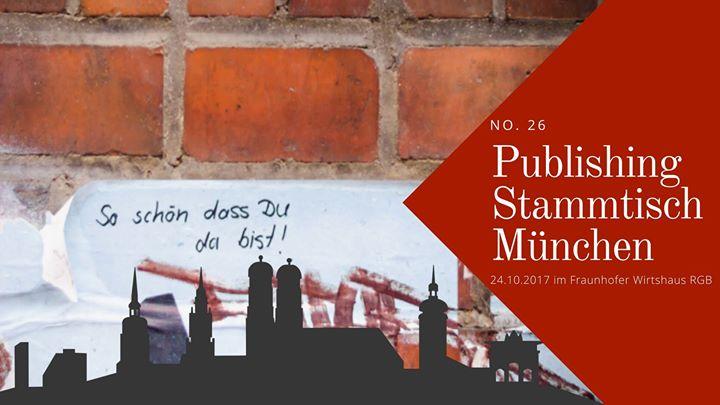 Publishing Stammtisch München #26: Tbd.