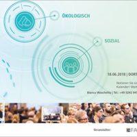FAMAB-Sustainability Summit 2018