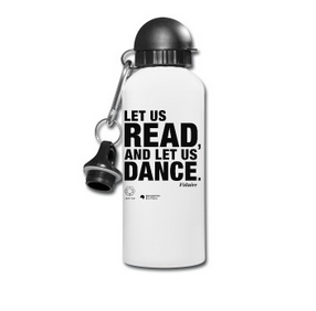 LET US READ | Voltaire-Zitat-Trinkflasche