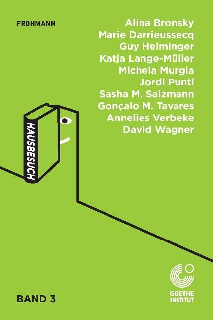 Taschenbuch 'Hausbesuch'-Anthologie, Band 3/3, hg. vom Goethe-Institut, nl/pg/ct