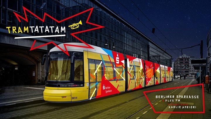 Tram−ta−ta−tam: Straßenbahnkonzert der Berliner Sparkasse