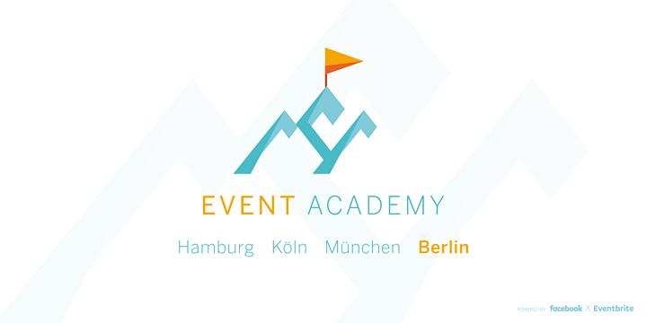 Event Academy BERLIN - powered by Facebook & Eventbrite