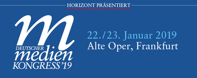 DMK Deutscher Medienkongress 2019