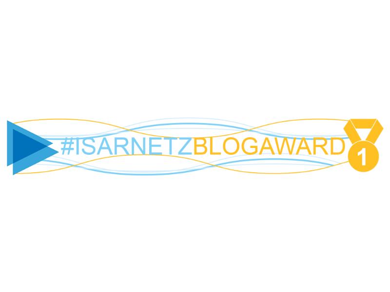 ISARNETZ BLOG AWARD 2018