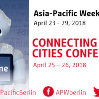 Connecting Startup Cities Conference // Asia-Pacific Week Berlin 2018