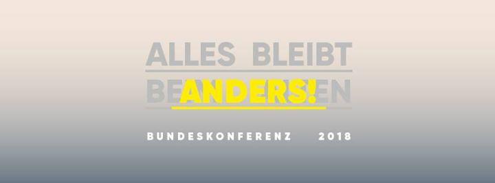 JIK Bundeskonferenz 2018 // Veränderung, Unsicherheit, Identitäten im Wandel