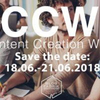 Content Creation Week 2018