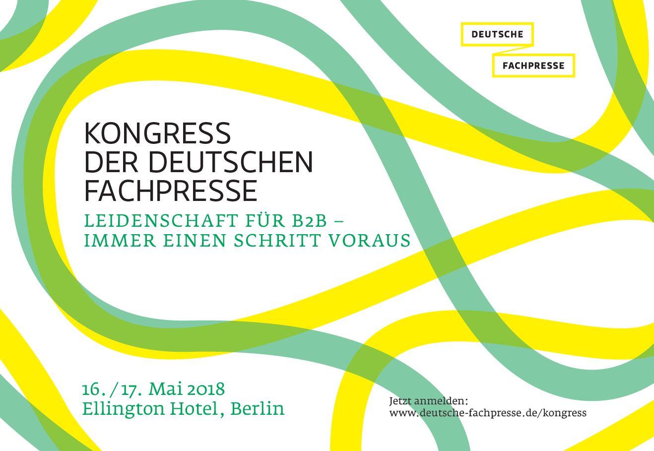 Kongress der Deutschen Fachpresse 2018