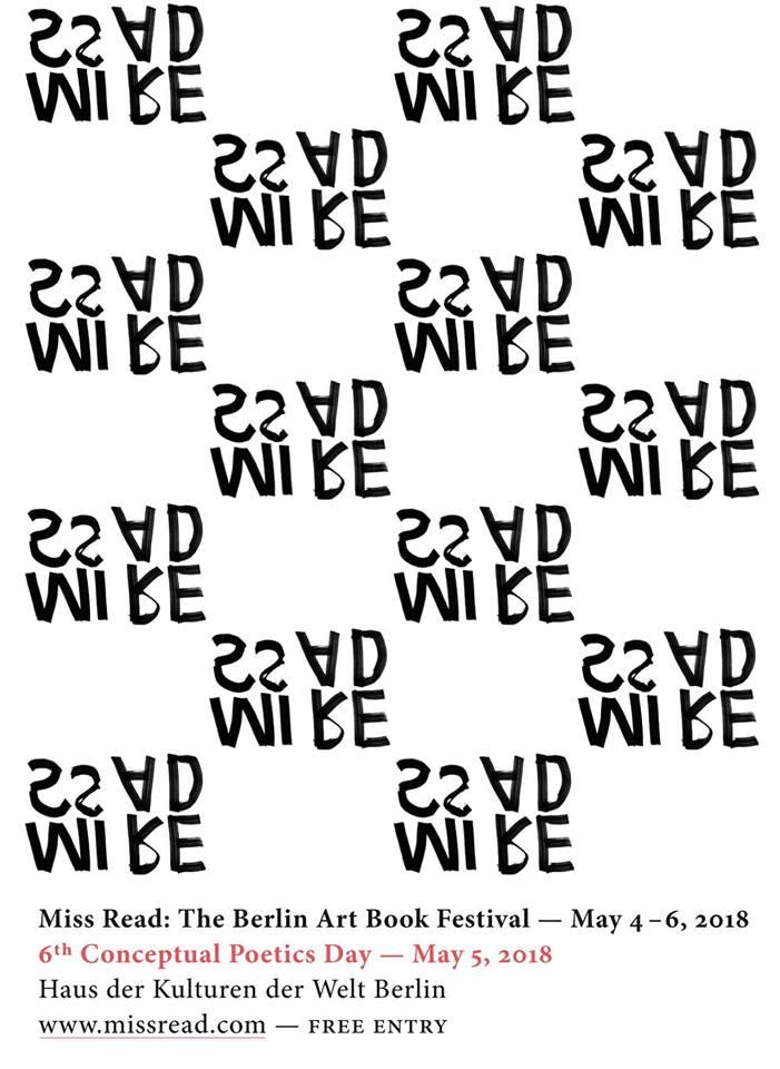 MISS READ 2018: The Berlin Art Book Festival