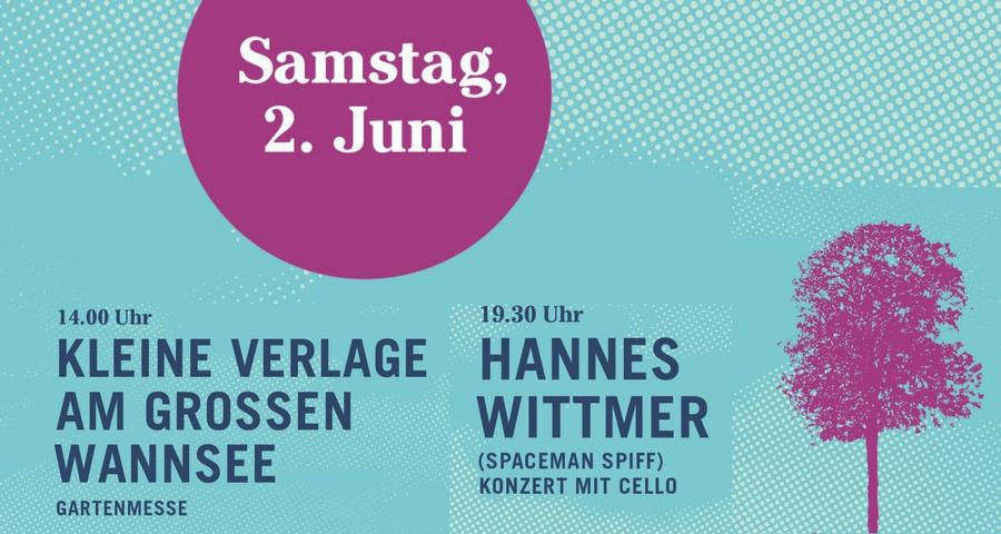 Kleine Verlage am Großen Wannsee 2018
