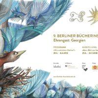 9. Berliner Bücherinseln 2018 - Ehrengast: Georgien