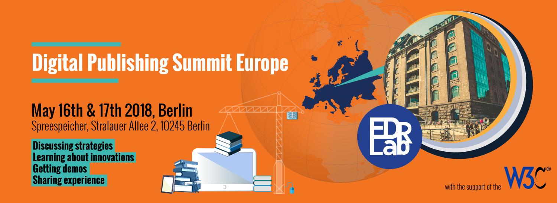 Digital Publishing Summit Europe 2018