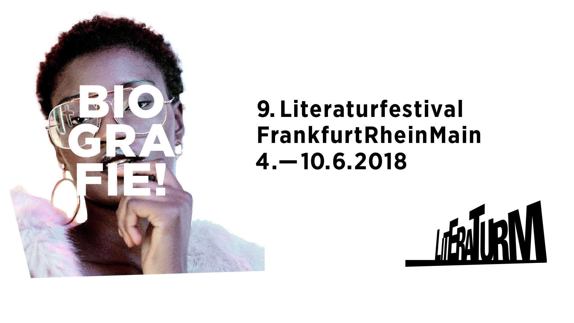 literaTurm 2018 - 9. Literaturfestival FrankfurtRheinMain