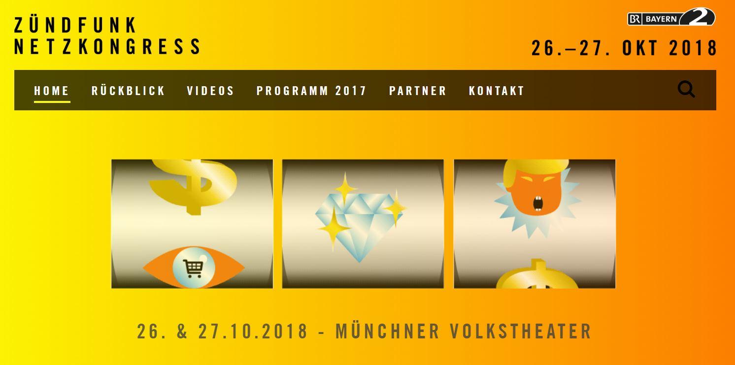 Zündfunk Netzkongress 2018