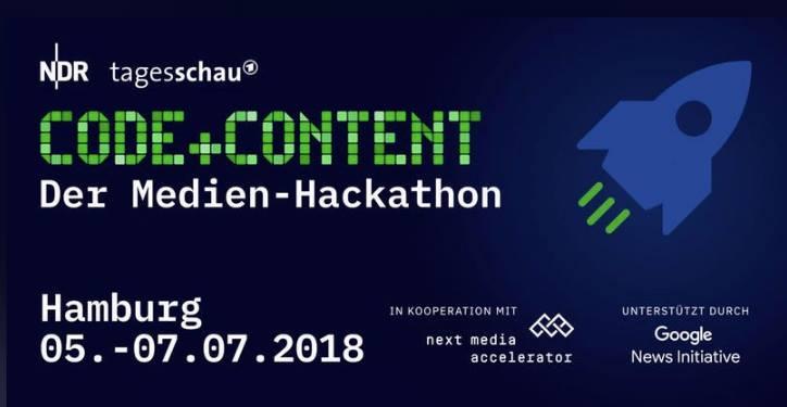 Code + Content: Der Medien-Hackathon von NDR und ARD-aktuell