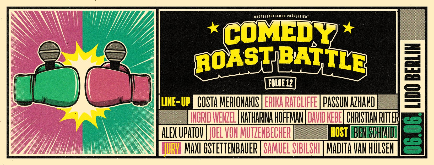 Comedy Roast Battle #12