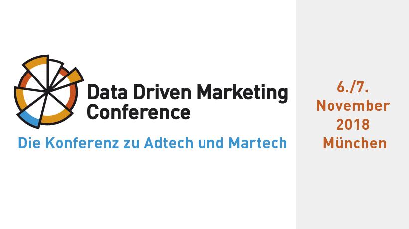 Data Driven Marketing Conference 2018
