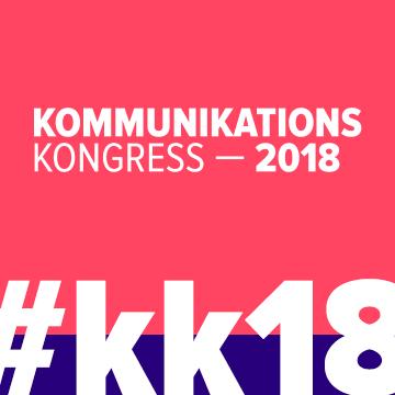 Kommunikationskongress 2018 - Fokusthema: Mut
