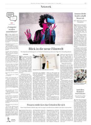 Leander Wattig im Chat-Interview der Berliner Zeitung