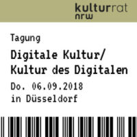 "Tagung ""Digitale Kultur / Kultur des Digitalen"""
