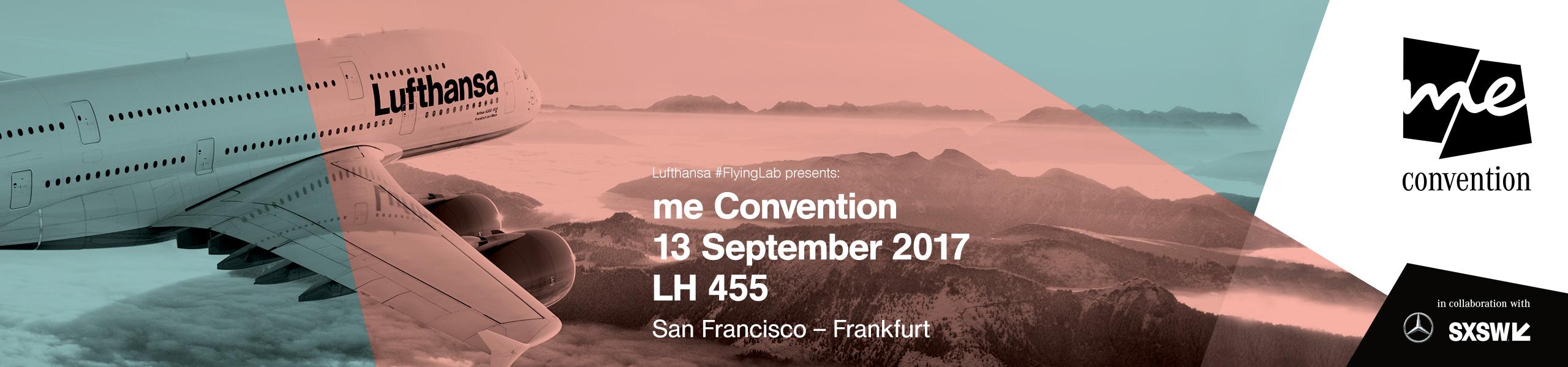 Lufthansa FlyingLab me Convention