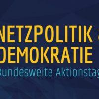 Streaming-Konferenz: Netzpolitik und Demokratie