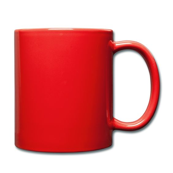 Tasse »Ich mach was mit Büchern« - farbig