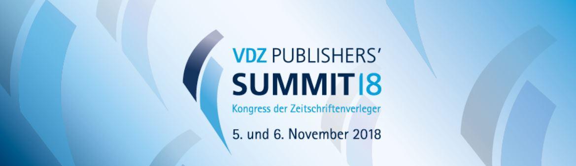 VDZ Publishers' Summit 2018