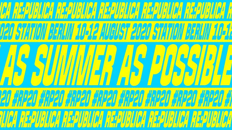re:publica 2020 – ASAP