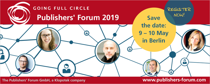 Publishers' Forum 2019