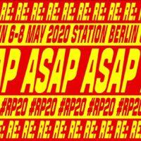 Die re:publica mit neuem Motto für 2020: ASAP