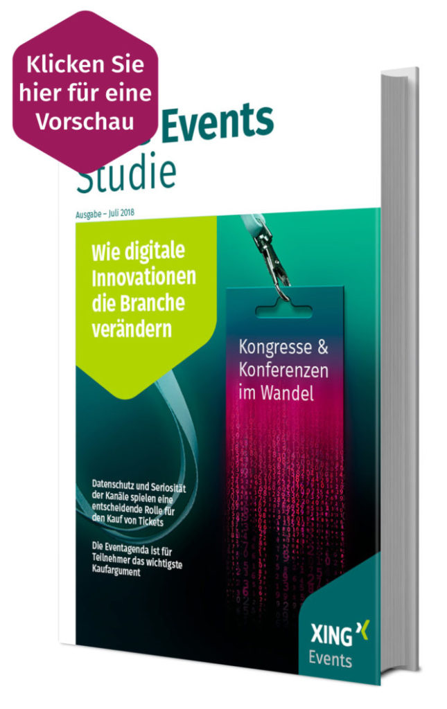 XING: Kongresse & Konferenzen im Wandel - Wie digitale Innovationen die Branche verändern (2018)