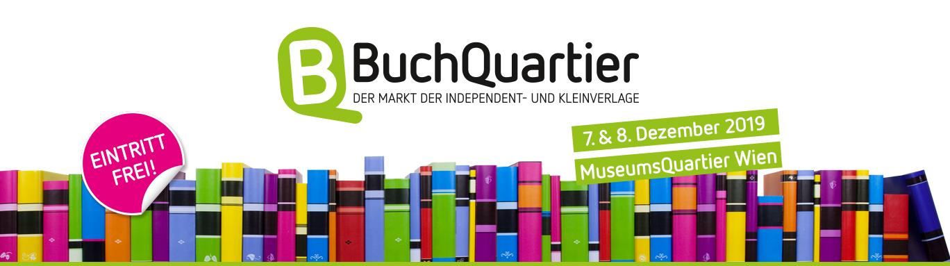 BuchQuartier 2019 - Buchmesse für unabhängige und kleine Verlage