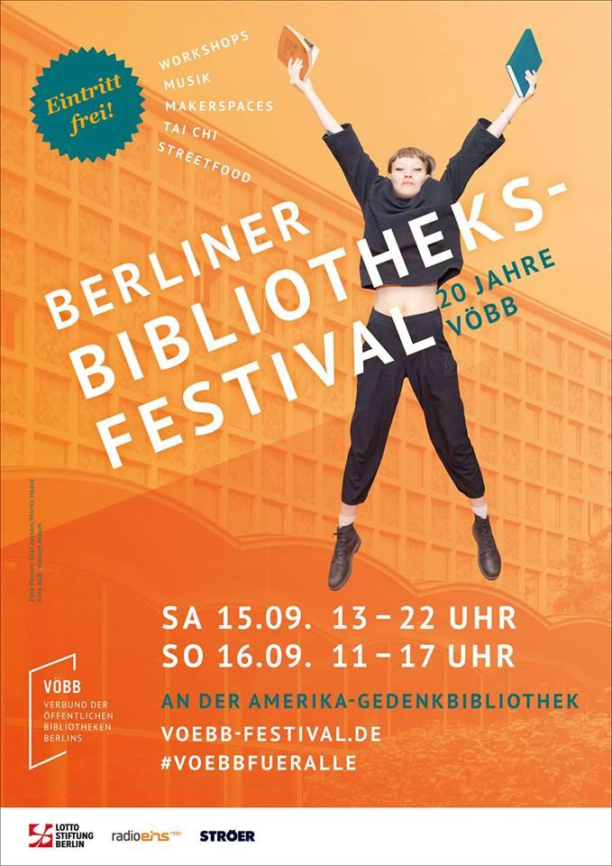 Berliner Bibliotheksfestival 2018 - 20 Jahre VÖBB