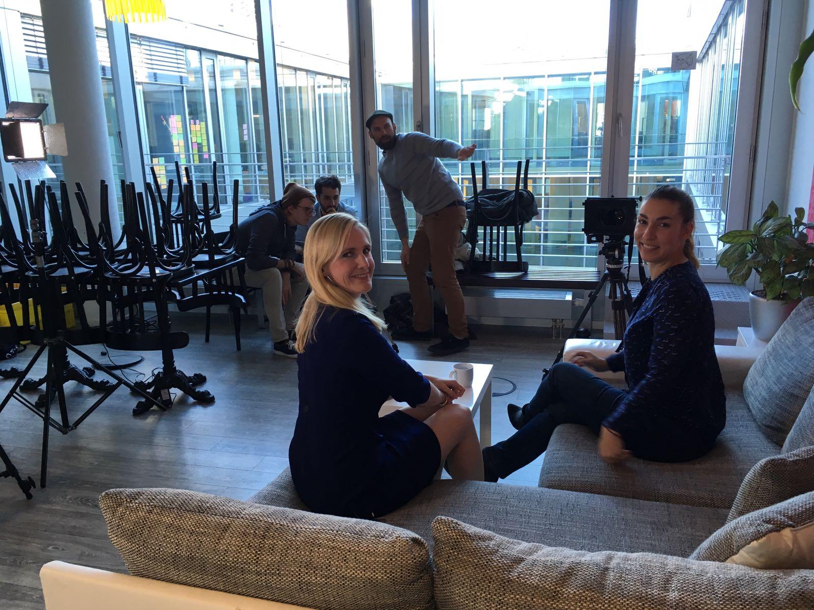 Jennifer Lachman, XING, und Tijen Onaran, Global Digital Women