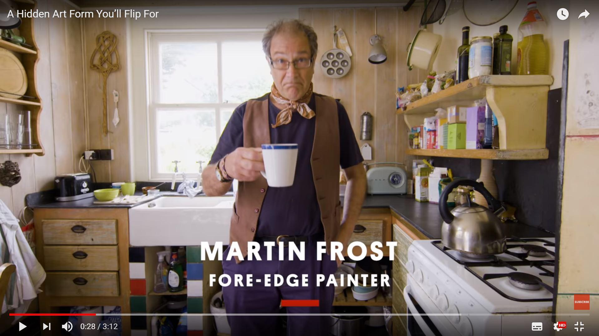 Kurzdoku: Martin Frost, der letzte professionelle Unterschnittmaler