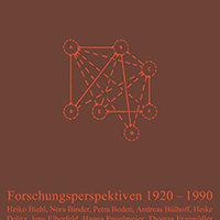 Epistemologie der Gruppe. Forschungsperspektiven 1920-1990