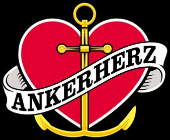 Ankerherz an Bord der BLEICHEN: Rendsburg - Hamburg